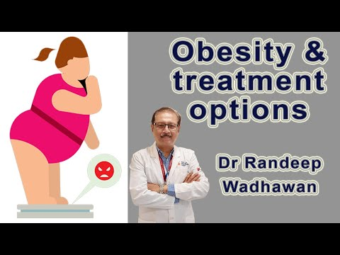 Obesity & treatment options available by Dr Randeep Wadhawan