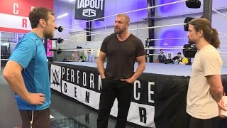 Daniel Bryan Meets The Cruiserweight Classic Competitors: June 22, 2016
