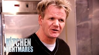 Gordon is Served Last Week's Food | Kitchen Nightmares