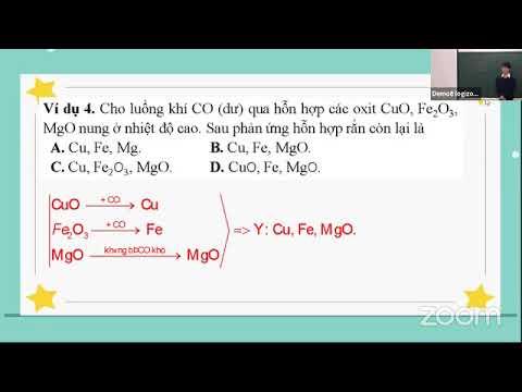 Môn Hóa học khối 12 - NHIỆT LUYỆN - Thầy Phan Khánh Phong - Trường THPT Chuyên