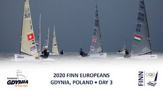 Highlights of Day 3 at the Finn Europeans in Gdynia, Poland