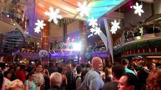Cruise Ship Christmas Themes on Royal Caribbean Allure of the Seas (HD)
