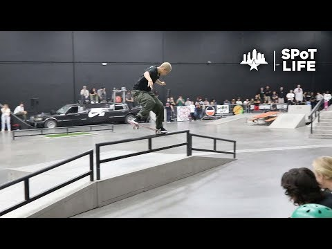 2018 Damn Am Los Angeles: Qualifiers & Indy Best Trick – SPoT Life