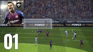 pes 2019 mobile gameplay walkthrough - TH-Clip