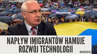 Dr Cezary Mech: Napływ imigrantów hamuje rozwój technologii