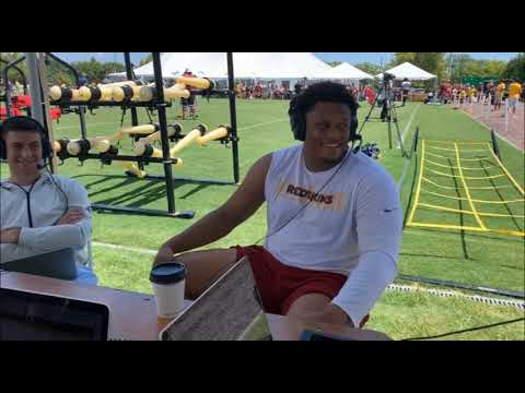 Ereck Flowers on filling the huge shoes of Trent Williams