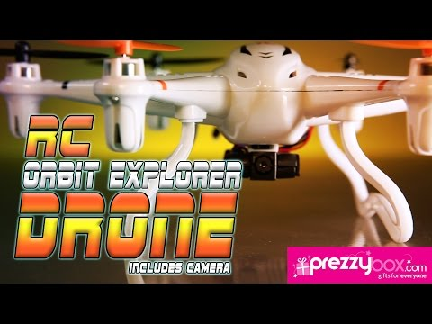 Remote Control Orbit Explorer Drone with Camera