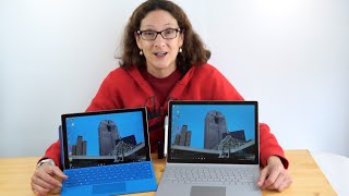 Microsoft Surface Book vs. Surface Pro 4 Comparison
