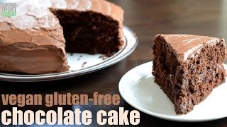 gluten dairy egg free chocolate cake