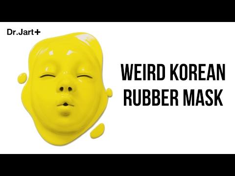 Die Maske für die Person von den Pickeln mit der Zitrone