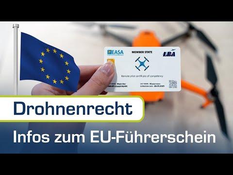 Alle Infos zum EU-Drohnenführerschein A1/A3 und A2