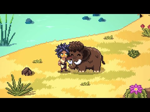 Stone Age co-op farming sim Roots of Pacha is live on Kickstarter