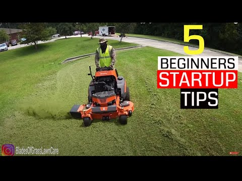 , title : 'Are you thinking of starting a Lawn Care Business?