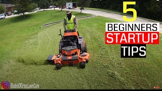 Are you thinking of starting a Lawn Care Business?