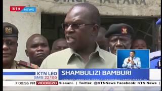 Polisi Bamburi wawasaka wanasiasa wanaokisiwa kuzifadhili magenge haramu