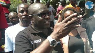 Aukot says he is not in competition with any politician in his