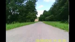preview picture of video 'Minikamera MDV 100 - Radweg Regensburg-Falkenstein (alte Bahnlinie)'
