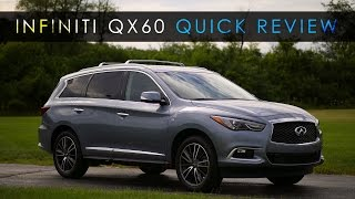 Quick Review | 2017 Infiniti QX60 | Plain and Plush