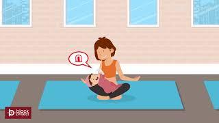 smart door bell product animated video explainer