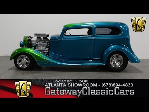 Video of 1934 Chevrolet Sedan - $41,995.00 Offered by Gateway Classic Cars - Atlanta - KJ1Z