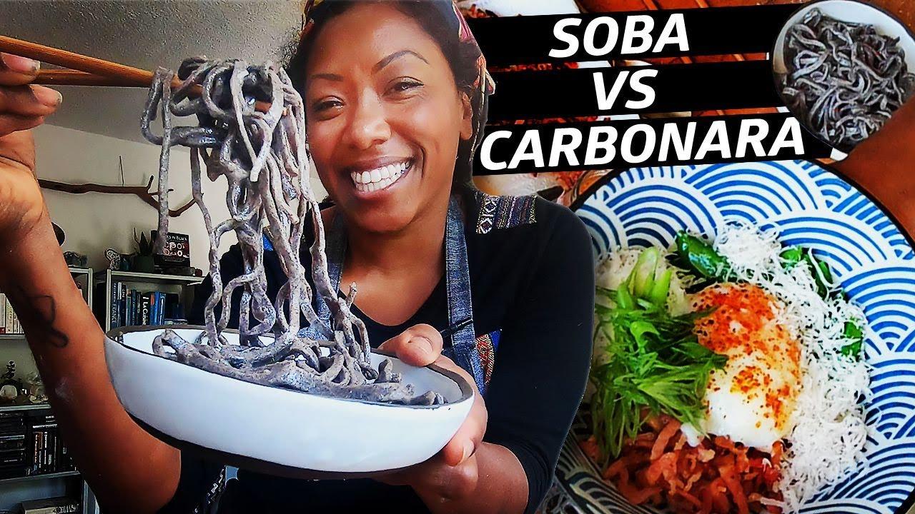 Can You Make Carbonara With Soba Noodles? — Improv Kitchen thumbnail