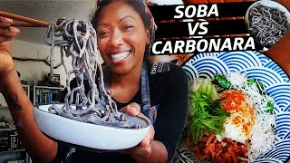 Can You Make Carbonara With Soba Noodles? — Improv Kitchen thumbnail