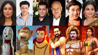 Indian Animation and their BOLLYWOOD voices