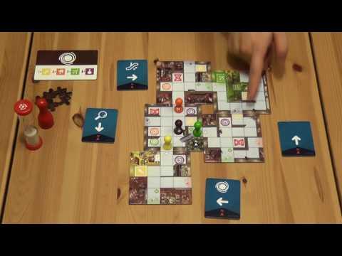 Magic Maze - Fogd és Fuss társasjáték - d3meeples