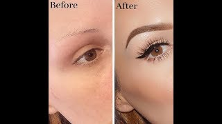 EASY BROW TUTORIAL FOR BEGINNERS 2019!!