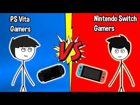PS Vita Gamers VS Nintendo Switch Gamers