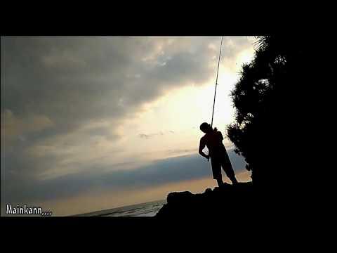 Melali dan Mancing Di Pantai Kelecung