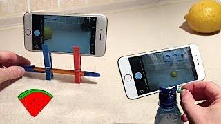 6 простейших штативов для телефона *** 6 Easy PHONE holders (DIY)