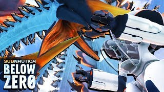 subnautica below zero ice worm footage - मुफ्त