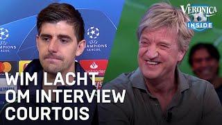 Wim lacht om interview Courtois: 'Heeft niet veel te melden' | CHAMPIONS LEAGUE