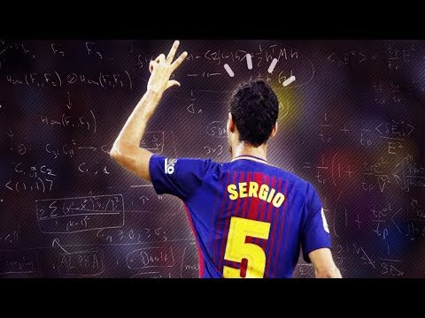 Sergio Busquets ● Genio Absoluto ● 2017/2018 HD