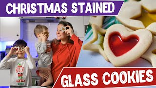 Christmas Stained Glass Cookies - Christmas cookie recipe - Christmas Recipe