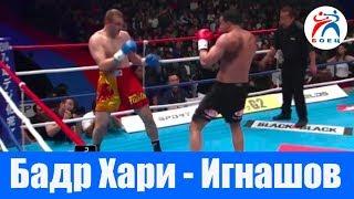 Бадр Хари против Алексея Игнашова. К-1 Лучшие Бойцы.