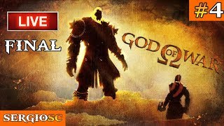 ///  God of War 1 - 2005 \\\ #4 FINAL Kratos vs Ares Dificultad Espartana  [PS4 Pro] PlayStation Now