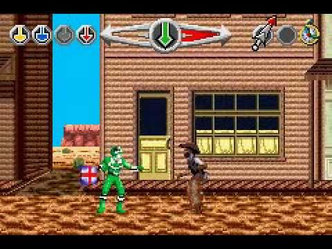 power rangers time force gba music