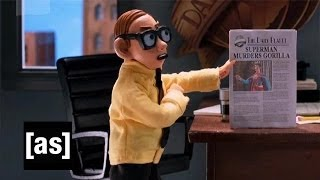 Nerd at the Daily Planet | Robot Chicken | Adult Swim