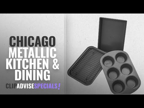 10 Best Selling Chicago Metallic Kitchen & Dining [2018 ]: Chicago Metallic Professional 4-Piece
