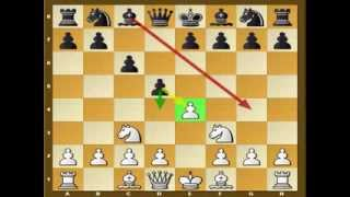 Dirty chess tricks 4 (Two Knights Attack -- Caro-Kann)
