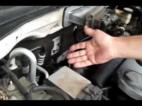 An Easier Way To Remove The Alternator From A 2001 Ford Escape And Possibly Mazda Tribute As Well