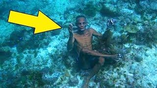Ci ludzie żyją w wodzie! Niezwykłe życie ludzi, o których nikt nie wiedział!