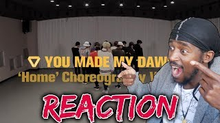 DANCER REACTS TO SEVENTEEN Home Dance Practise | [Choreography Video] SEVENTEEN(세븐틴)   Home REACTION