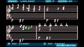 ABBA - Lovelight (Bank Street Music writer, ATARI800XL)
