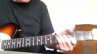 First guitar solo mercury blues alan jackson