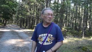 """Bigfoot encounters with Gary""!  Mt Rainier, WA. 20"" hair? Invisible Big foot?"