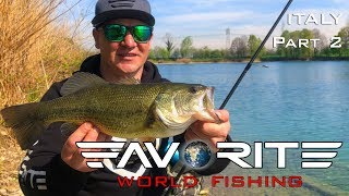 Favorite World Fishing. Карп и басс на один воблер. Стритфишинг в Милане.