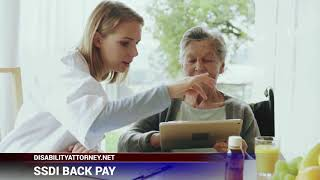 Video thumbnail: What is Social Security Disability Insurance (SSDI) BACK PAY?